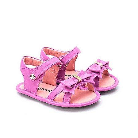 Sandália Infantil Sheep Shoes by Gambo Cristal Primavera Laço