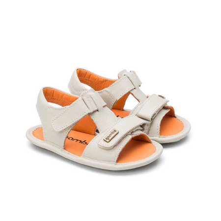 Sandália Infantil Sheep Shoes by Gambo Off White