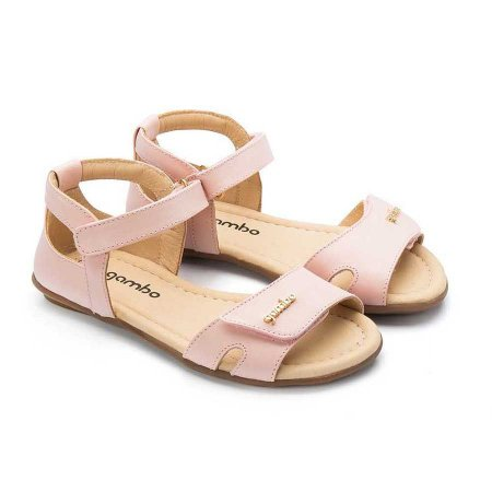 Sandália Infantil Sheep Shoes by Gambo Blush (rosa bebê)