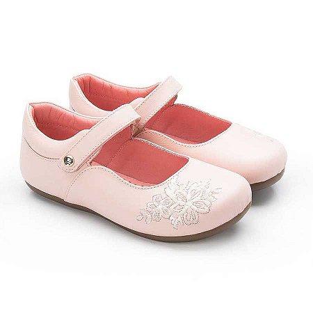 Sapatilha infantil Sheep Shoes by Gambo Blush (rosa bebê)