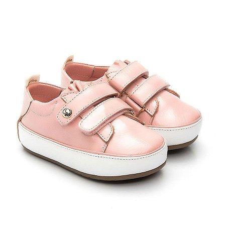 Tênis Infantil Gambo Verniz Jujuba (rosa)