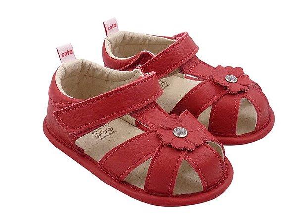 Sandália Infantil Catz Bonnie Vermelha