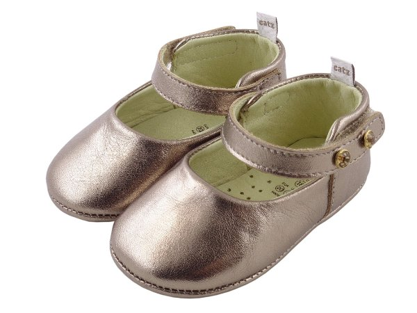 Sapatilha Infantil Catz Marie Metalic