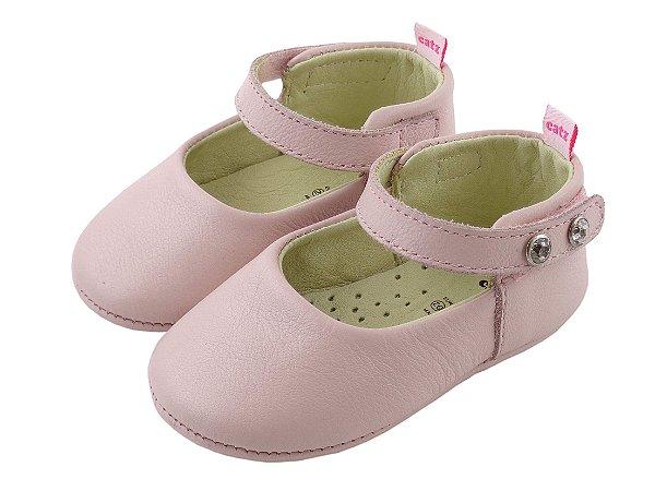 Sapatilha Infantil Catz Marie rosa bebê