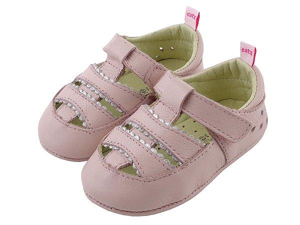 Sapatilha Infantil Catz Poly Rosa Bebê