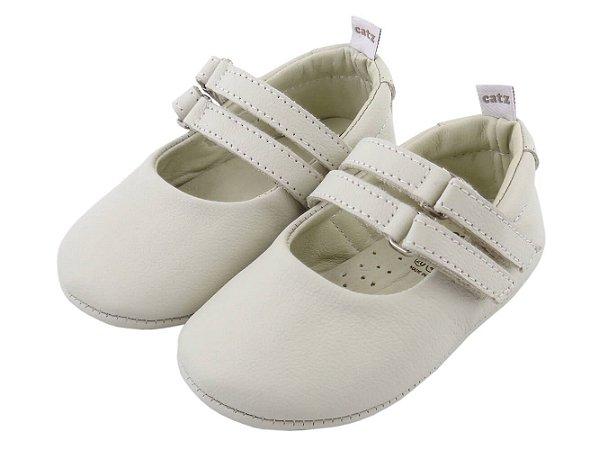 Sapatilha Infantil Catz Twinny Marfim