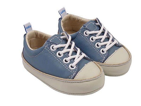 Tênis Infantil Catz Noddy Cadarço Azul Claro