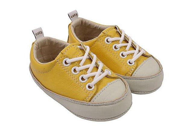Tênis Infantil Catz Noddy Cadarço Amarelo
