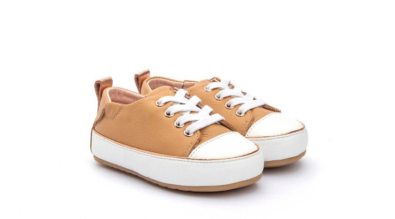 Tenis infantil gambo baby all star caramelo