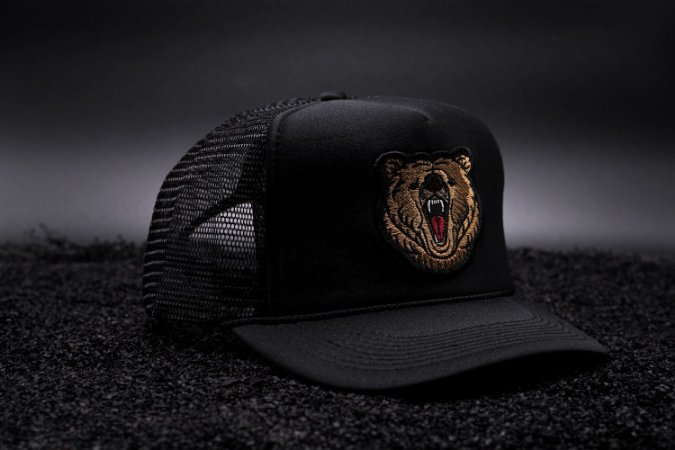 Grizzly Bear Trucker Cap