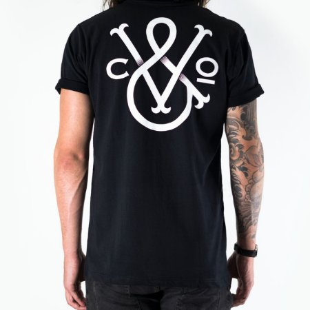 MODERN RIDERS BLACK T-SHIRT