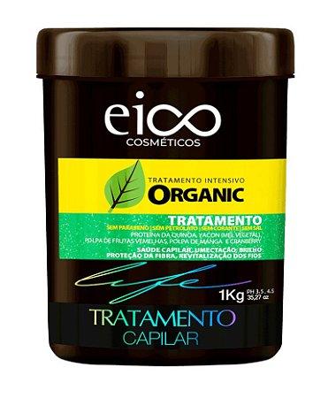 EICO Organic Máscara Capilar Vegana 1Kg