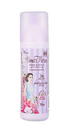 ALMA de FLORES Desodorante Perfumado Spray Essência de Baunilha 90ml