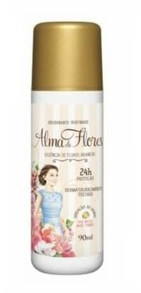 ALMA de FLORES Desodorante Perfumado Spray Essência de Flores Brancas 90ml