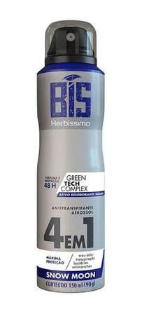 HERBÍSSIMO Desodorante Antitranspirante Aerosol 4em1 Snow Moon 150ml