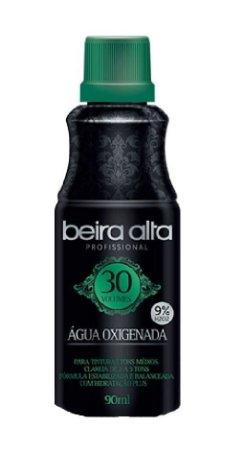 BEIRA ALTA Profissional Black Água Oxigenada Cremosa Alta Performance 30 Volumes 90ml