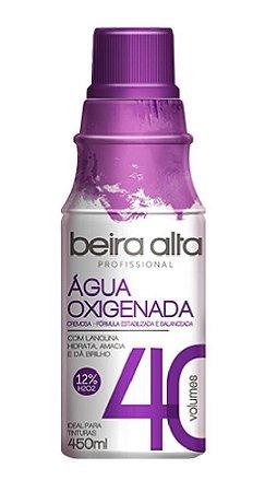 BEIRA ALTA Profissional Água Oxigenada Cremosa 40 Volumes 450ml