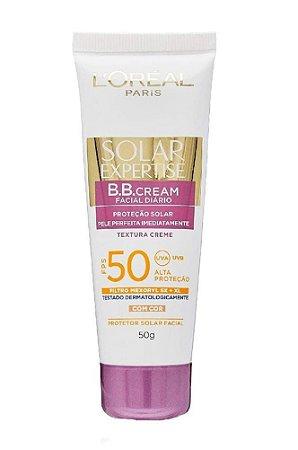L'ORÉAL PARIS Solar Expertise BB Cream Textura com Cor FPS 50 50g