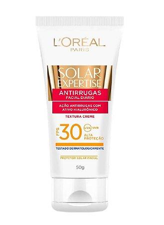 L'ORÉAL PARIS Solar Expertise Protetor Solar Facial FPS 30 Antirrugas 50g