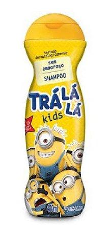 TRÁ LÁ LÁ Kids Sem Embaraço Shampoo Minions 480ml