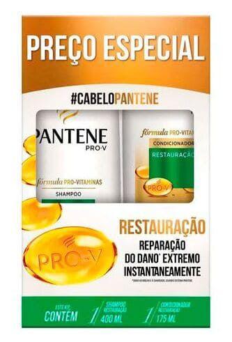 PANTENE Restauração Kit Shampoo 400ml + Condicionador 175ml (vencimento 07/21)