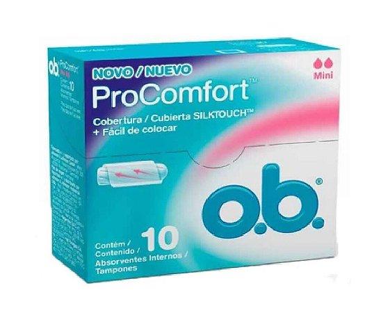 o.b. Absorvente Interno ProConfort Mini 10un