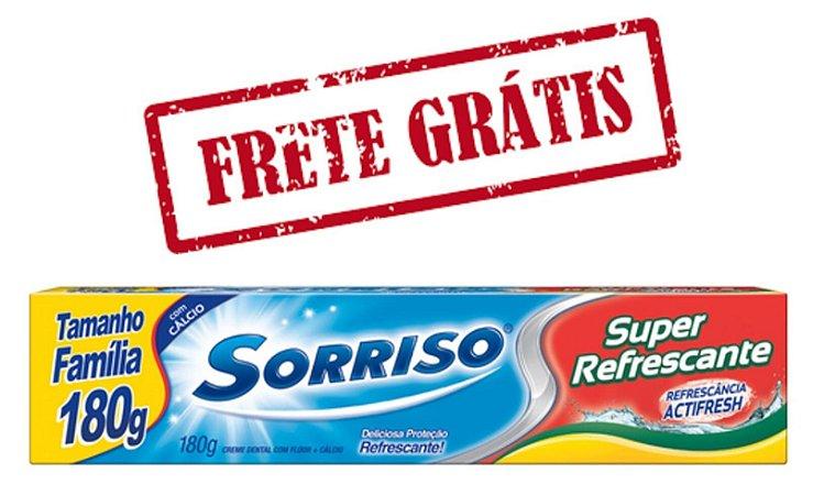 SORRISO Creme Dental Super Refrescante 180g