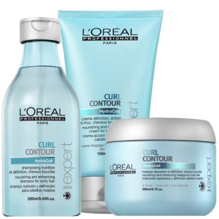L'Oréal Professionnel Expert Curl Contour Kit Shampoo + Máscara + Leave-in