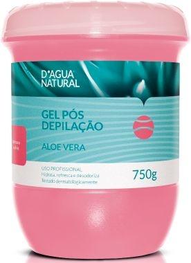 D'Água Natural Gel Pós Depilação Aloe Vera - 750g