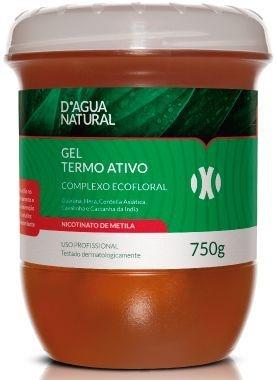 D'ÁGUA NATURAL Gel Termo Ativo Complexo Ecofloral 750g
