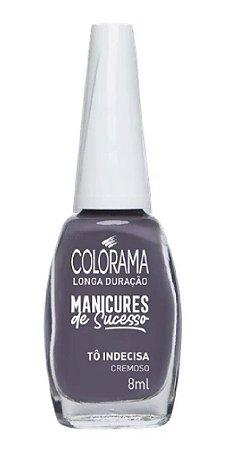 COLORAMA Esmalte Manicures de Sucesso Cremoso Tô Indecisa 8ml