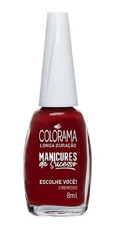 COLORAMA Esmalte Manicures de Sucesso Cremoso Escolhe Você 8ml