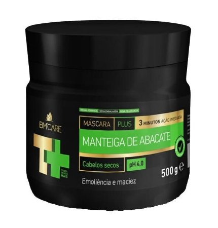 BARROMINAS T+ Máscara Capilar Manteiga de Abacate 500g