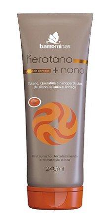 BARROMINAS Keratano + Nano Creme para Pentear 240ml