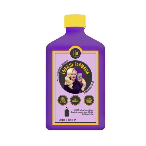 Lola Loira de Farmácia Shampoo Matizador - 250ml