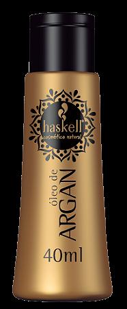 Haskell Óleo de Argan Oil Óleo - 40ml