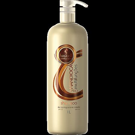 Haskell Mandioca Multifunções Shampoo para Cabelos Afro 1L