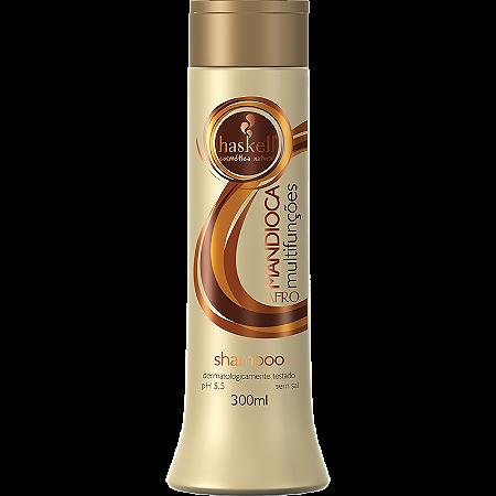 Haskell Mandioca Multifunções Shampoo para Cabelos Afro 300ml