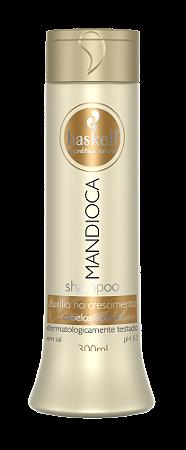 Haskell Mandioca Shampoo para Cabelos Opacos 300ml
