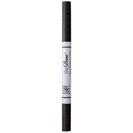 KISS NEW YORK GoBrow Lápis Modelador para Sobrancelha Black Brown (RBAP01BR)