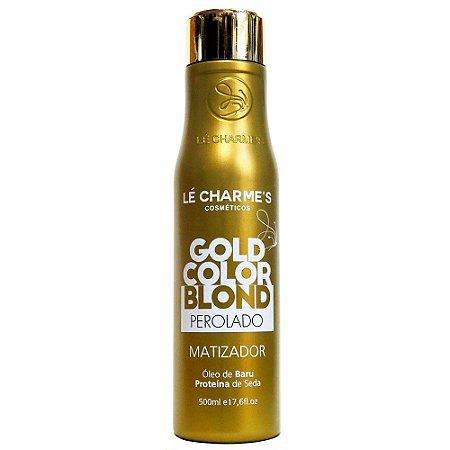 Lé Charme's Gold Color Blond Perolado Matizador 500ml