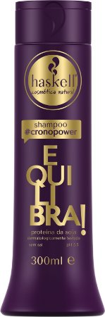 HASKELL #CronoPower Shampoo Equilibra 1º passo 300ml