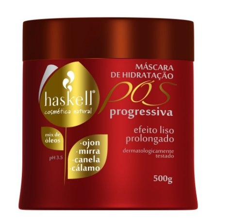Haskell Pós Progressiva Máscara - 500g