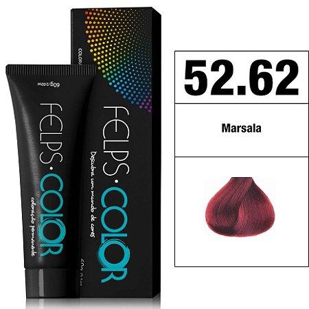 Felps Color Coloração Permanente - 52.62 - Marsala
