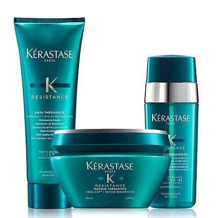 Kérastase Résistance Therapiste Kit Bain 250ml + Masque 200g + Sérum 30ml
