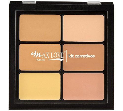 Max Love Paleta Corretivos Pele Clara 01