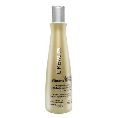 C.Kamura Blonde Vibrante Gloss Shampoo - 315ml