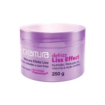 C.Kamura Defrizz Liss Efect Máscara de Tratamento - 250g