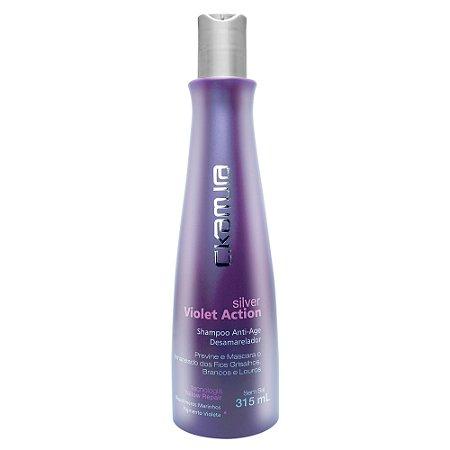 C.Kamura Silver Violet Action Shampoo - 315ml