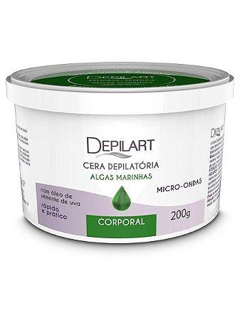 Depilart Cera Depilatória Micro-ondas Algas marinhas - 200g